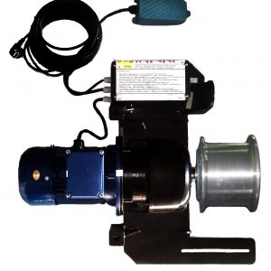 Single capstan winch up to 3Ton pulling and 0,6Ton lifting