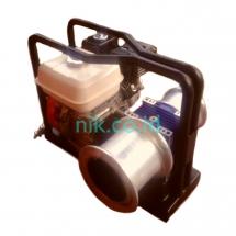 gasoline double capstan winch portable